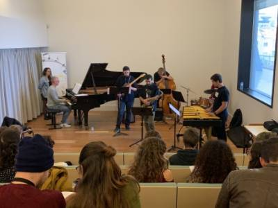 Improvisation workshop with Benny Lackner